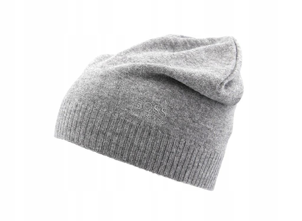 HUGO BOSS czapka zimowa męska BEANIE BASIC LOGO