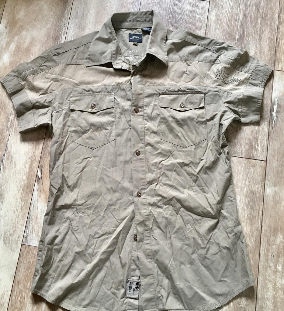 G-star Ruler gs shirt militarna koszulka R.L