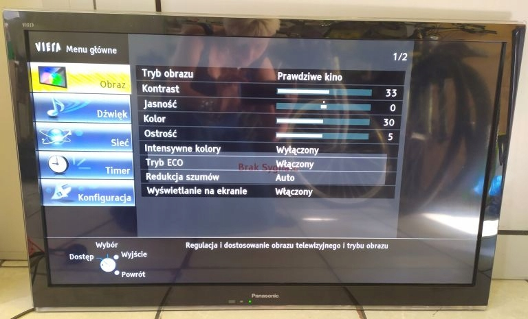 TELEWIZOR PANASONIC TX-L32C5E KOMPLET PUDEŁKO