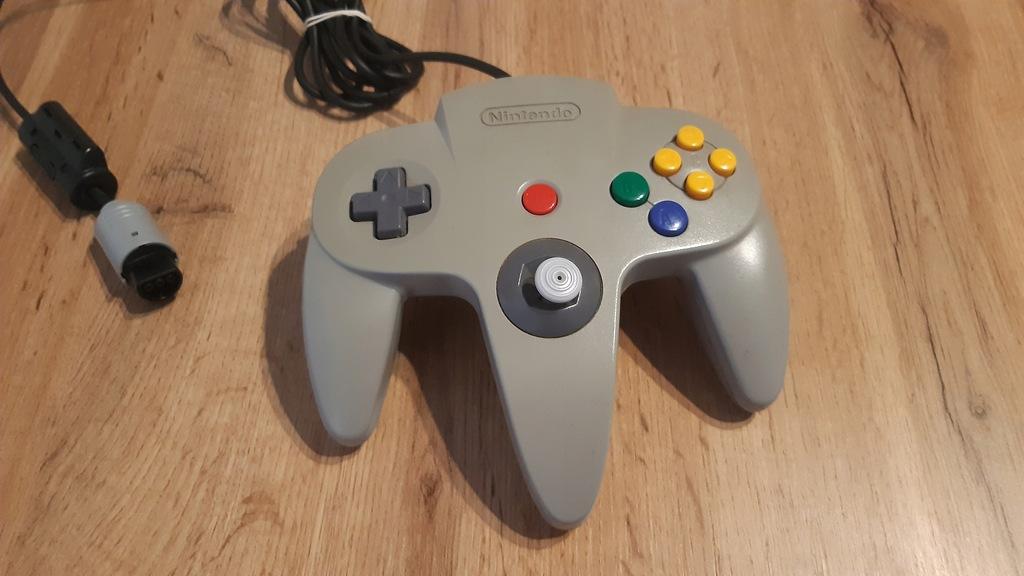 Gamepad Nintendo 64 Szary