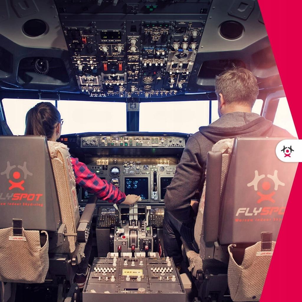 FLYSPOT - 40 minut za sterami Boeinga 737-800 dla