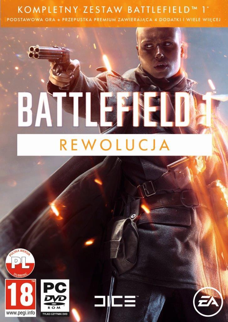 Battlefield 1 Rewolucja Nowa Box Plyta Pc Pl 7422865425 Oficjalne Archiwum Allegro