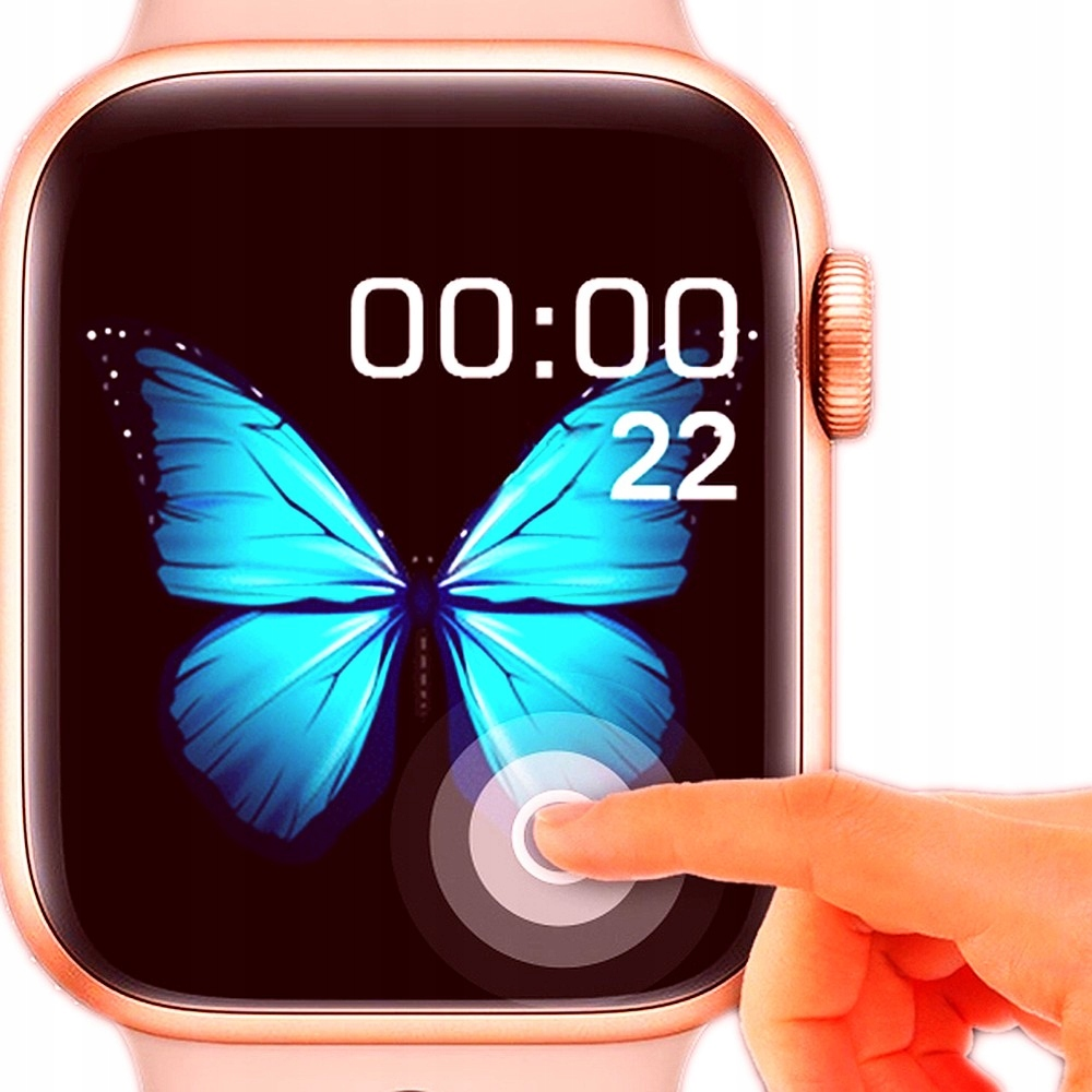Zegarek damski smartwatch do Apple Samsung ROZMOWY