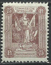 1920 PLEBISCYTY - KWIDZYN Fi 10*