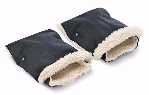 Sensillo Mufki rękawiczki do wózka czarne
