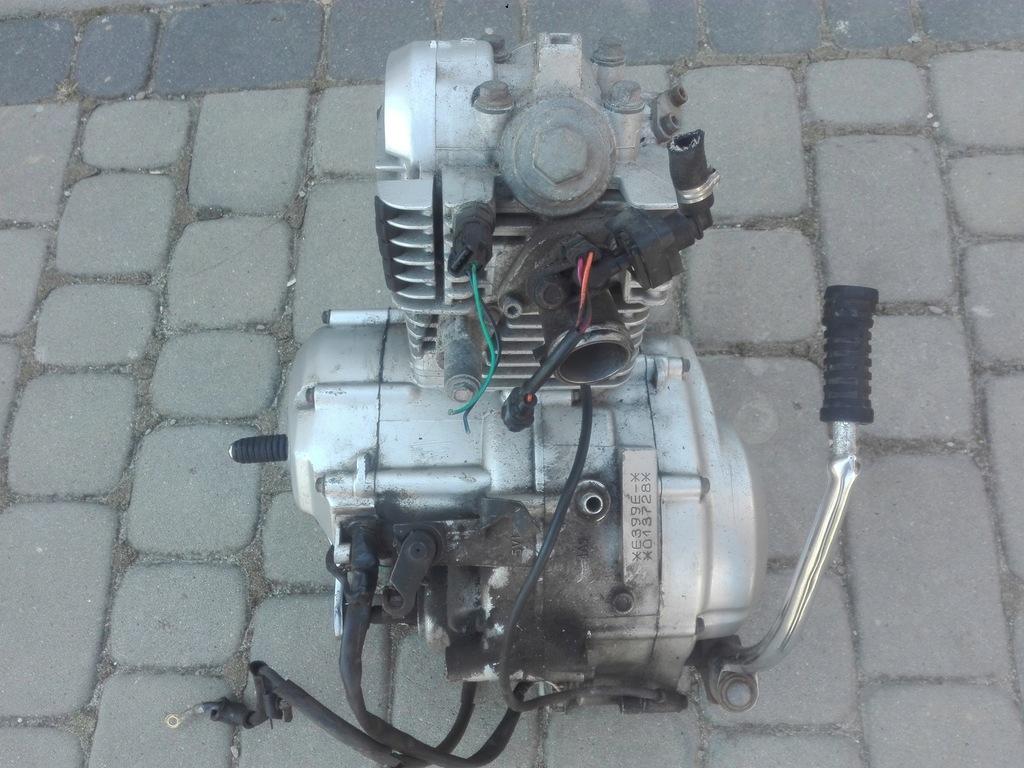 Silnik Yamaha YBR 125 09-16