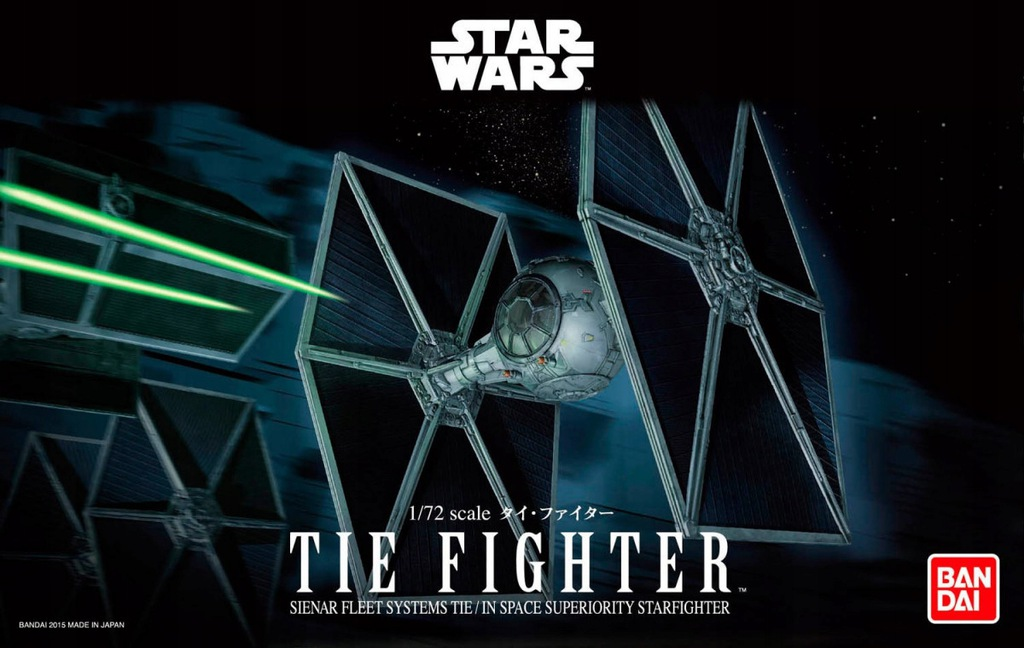 Model plastikowy Star Wars TIE Fighter