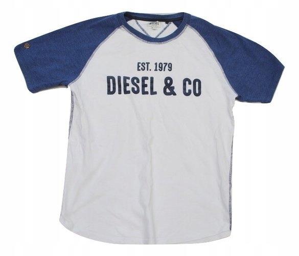 U Modna Bluzka Koszulka t-shirt Diesel L z USA!