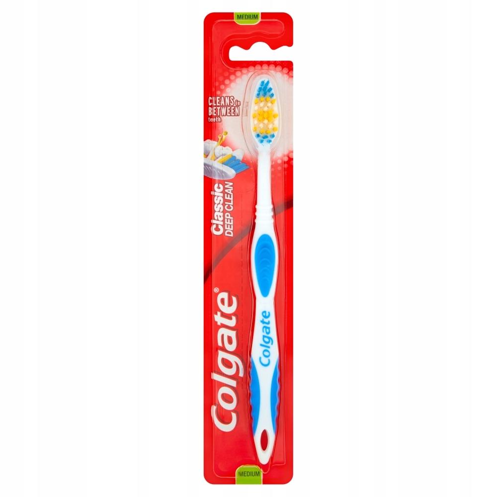 Colgate Classic Clean Szczoteczka do zębów średnia