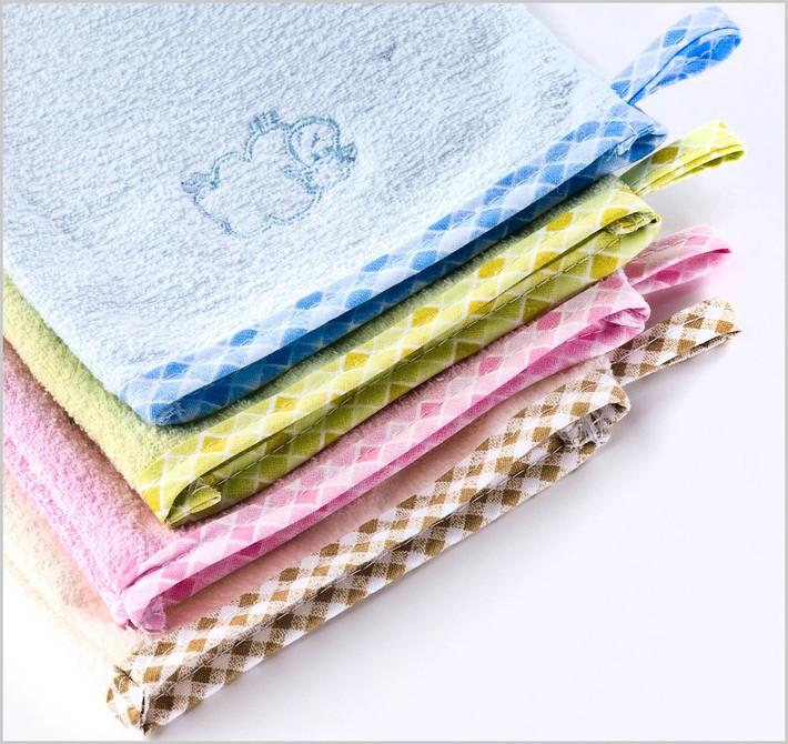 Rękawica bawełniana do kąpieli myjka Sensillo