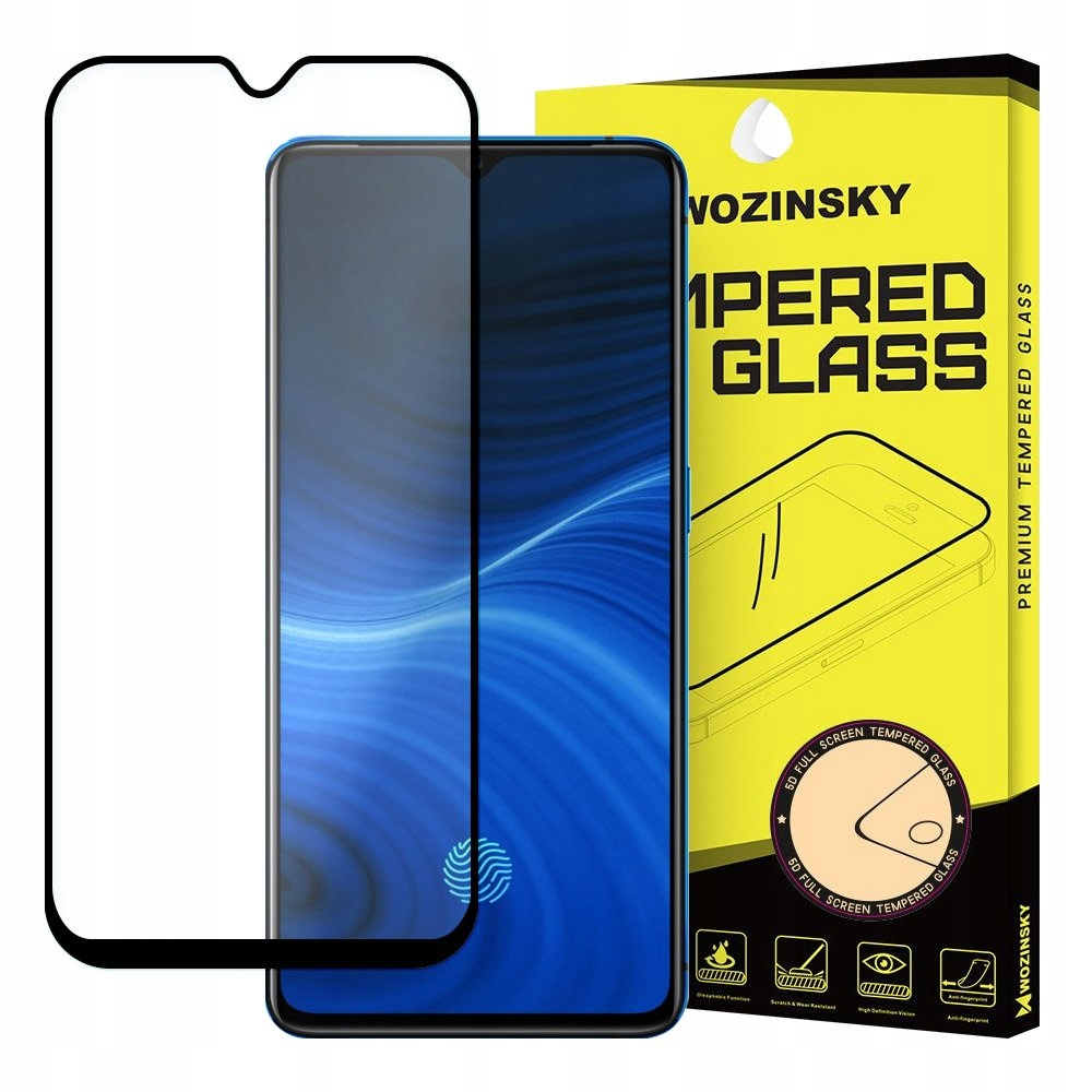 Wozinsky szkło 5D Full do Realme X2 Pro czarny