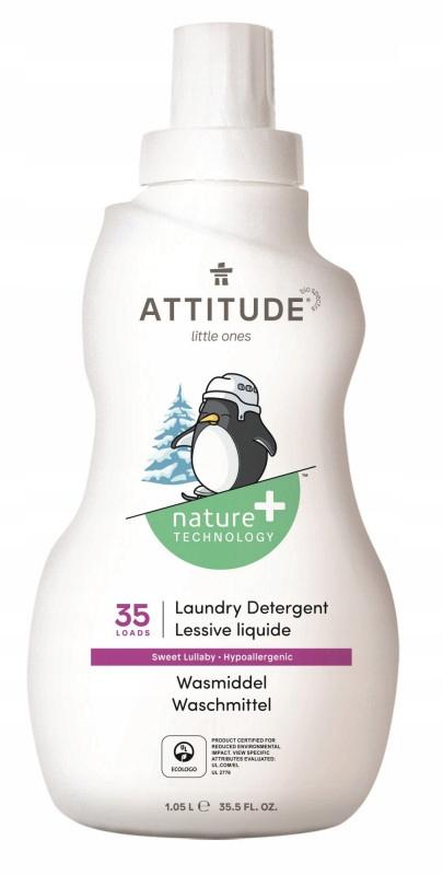Attitude, Płyn do prania ubranek dziecięcych Słodk