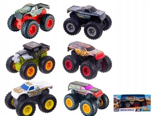 Hot Wheels. FYJ80 Monster Trucks. 2 pojazdy, mi...