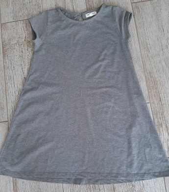 Sukienka szara RESERVED, tunika, r. 140