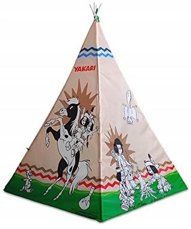 namiot domek indiański dla dzieci do pomalowania