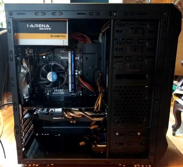Komputer do gier i nauki i5 8GB GTX760 SSD WIN10