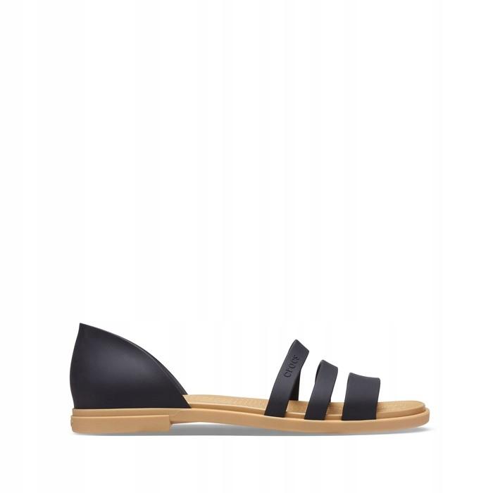 Crocs Tulum Open Flat W 206109 BLACK/TAN 39,5