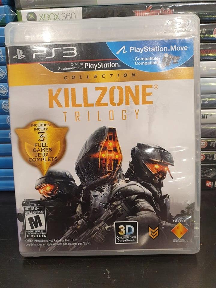 Ps3 Killzone Trilogy Trylogia Unikat Collection 8542164338 Oficjalne Archiwum Allegro