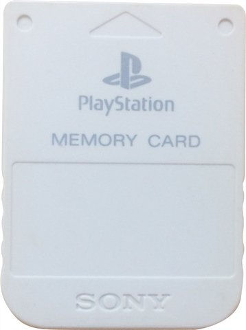 KARTA PAMIĘCI SONY PLAYSTATION 1MB WHITE PS1