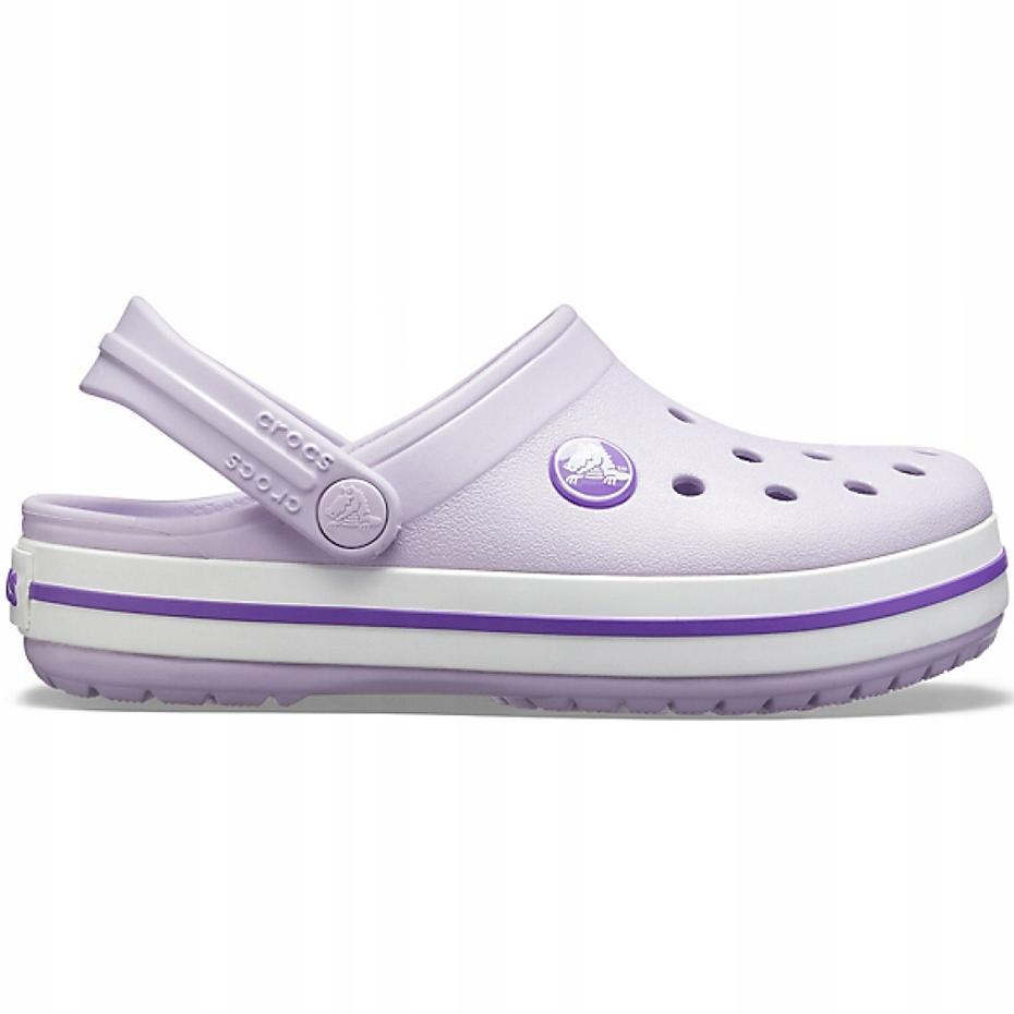 Crocs dla dzieci Crocband Clog K fioletowe 204537