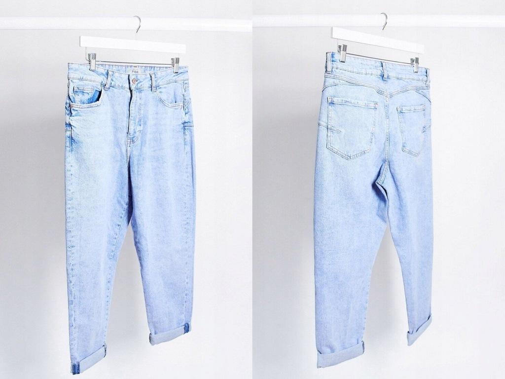 New Look Niebieskie Mom Jeans S/36