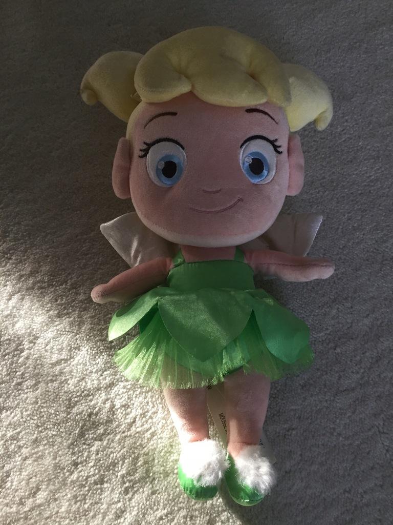 Disneystore pluszowa lalka Dzwoneczek