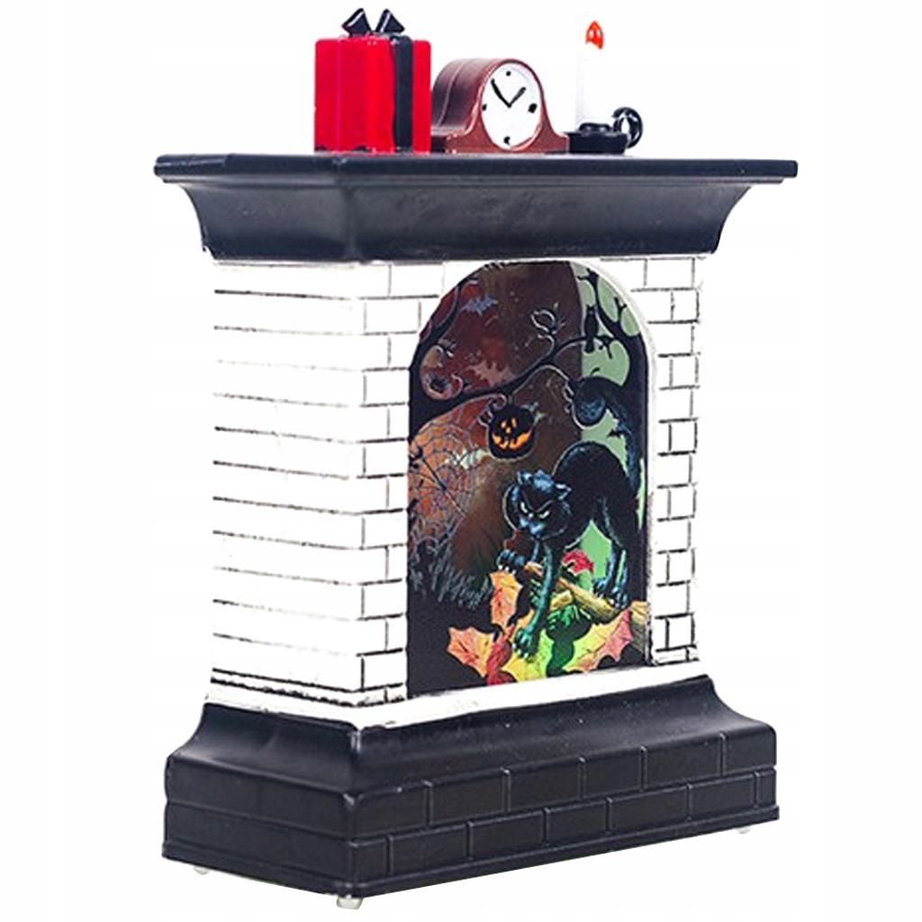 Halloween LED Light Prop - Czarny kot