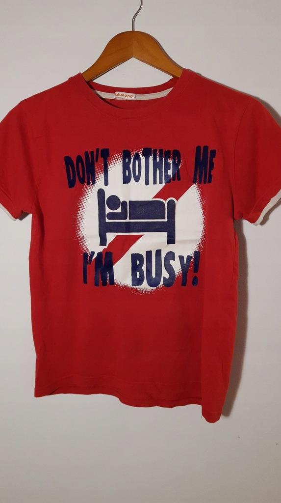 DEBENHAMS t-shirt z nadrukiem 158