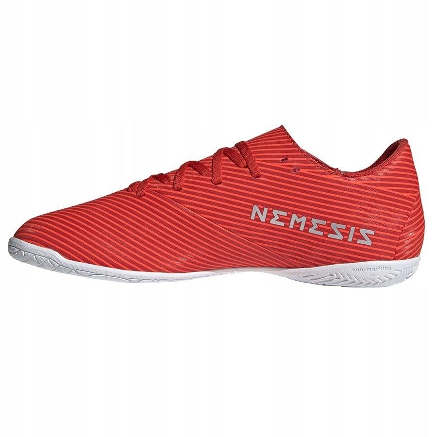 Buty piłkarskie adidas nemeziz 19.4 in czerwone f34528