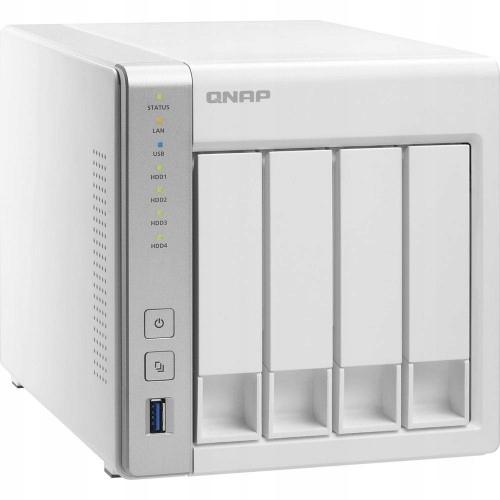 TS-431P 4x0HDD 1GB Alpine AL-212 2x1.7Ghz 2xGbE 3x