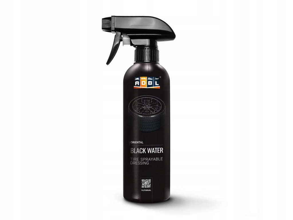 ADBL Black Water 1L - Dressing w sprayu do opon