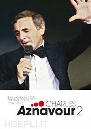 AZNAVOUR, CHARLES - DVD ANTHOLOGIE VOL.2 /3DVD/ 18