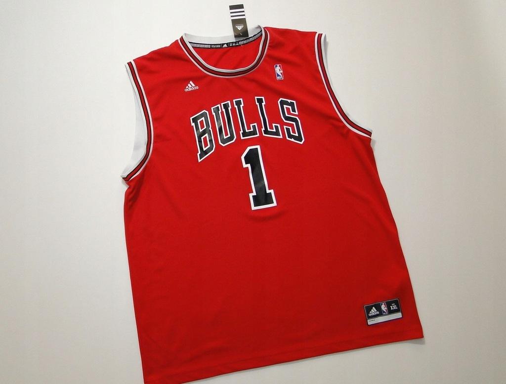 Koszulka CHICAGO BULLS Rose NBA Adidas Basketball