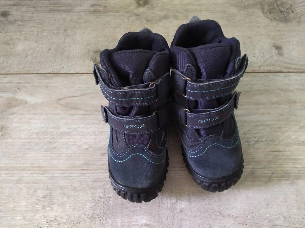 Geox zimowe buty śniegowce wodoszczelne 25