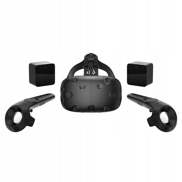 Zestaw VR HTC VIVE + 2 bazy + 2 kontrolery