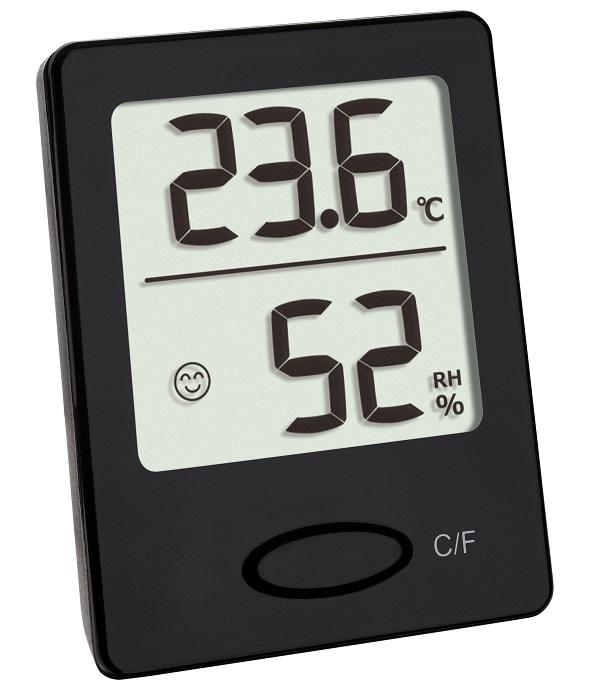 TFA 30.5041 termohigrometr elektroniczny czarny