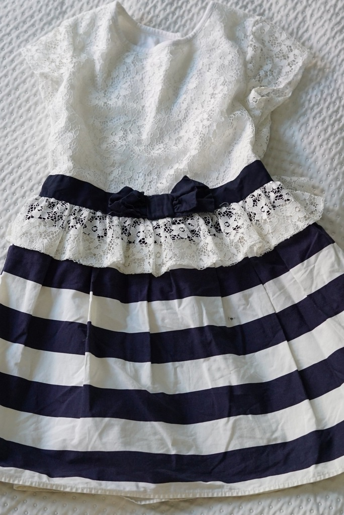 Sukienka NEXT koronka 110cm