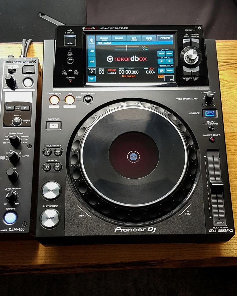 Odtwarzacz Pioneer DJ XDJ 1000 MK2