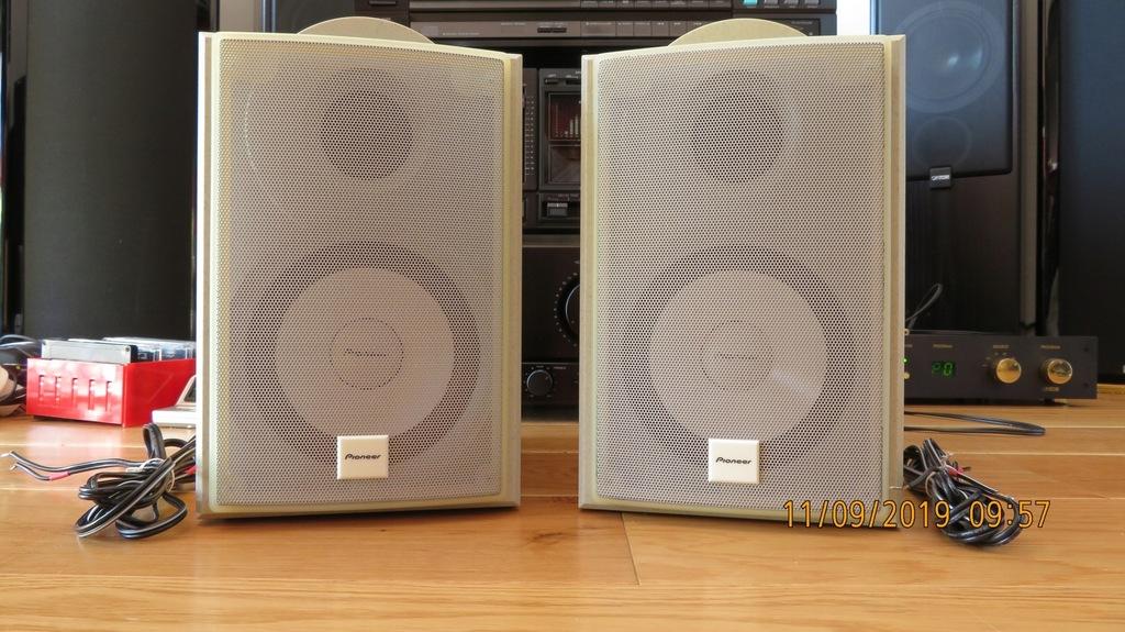 Pioneer L-S5V przyzwoite wykonanie, dźwięk też!