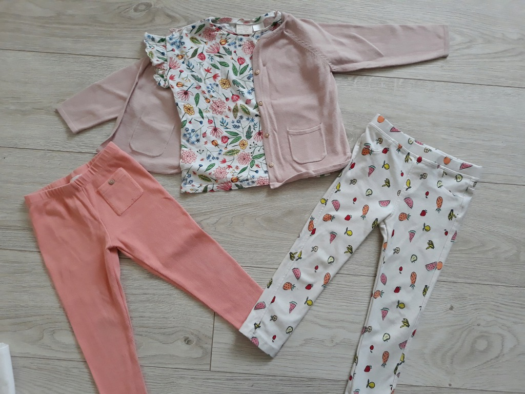 2 pary legi Zara roz 98
