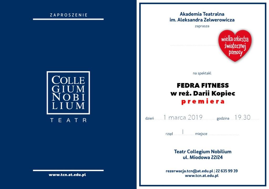 """Fedra Fitness"", reż. Daria Kopiec - premiera"