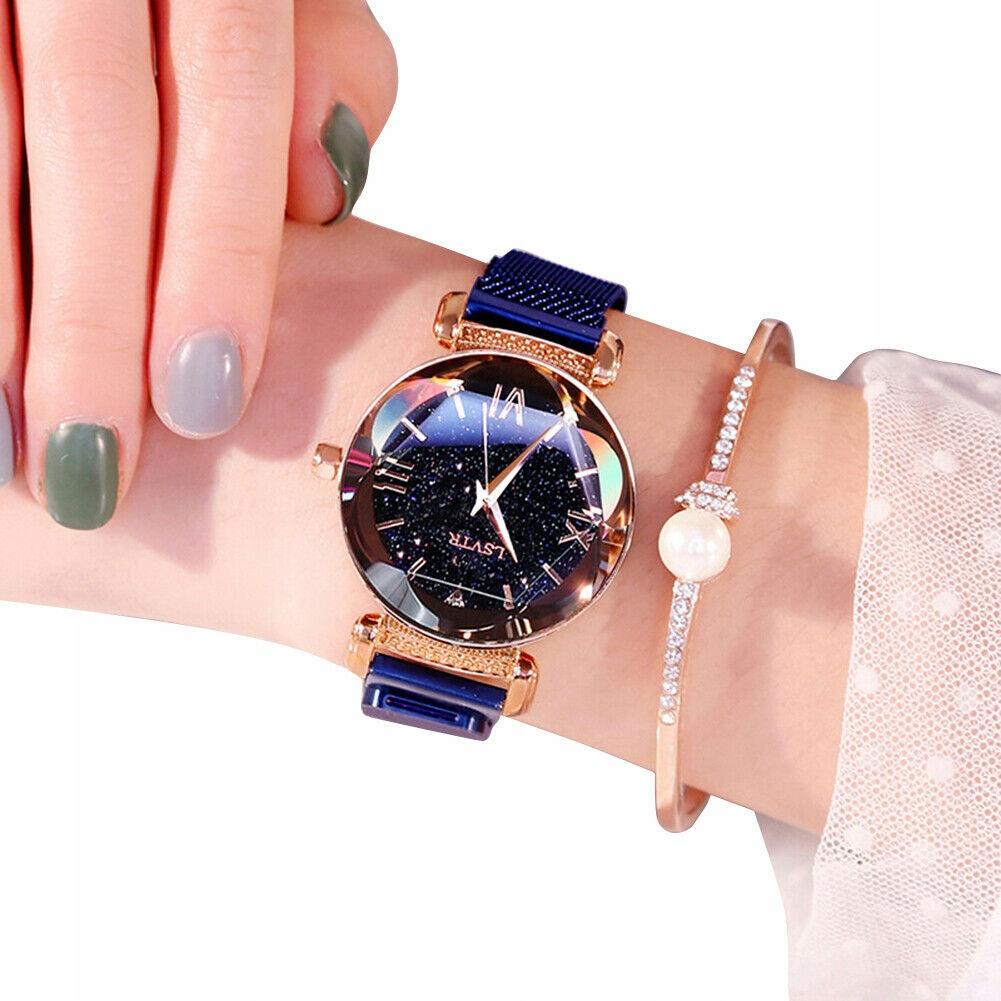Modny damski zegarek Starry Sky