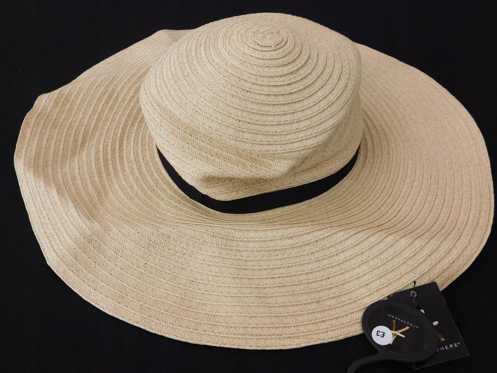 1707e114 PRIMARK kapelusz na lato NOWY o/s