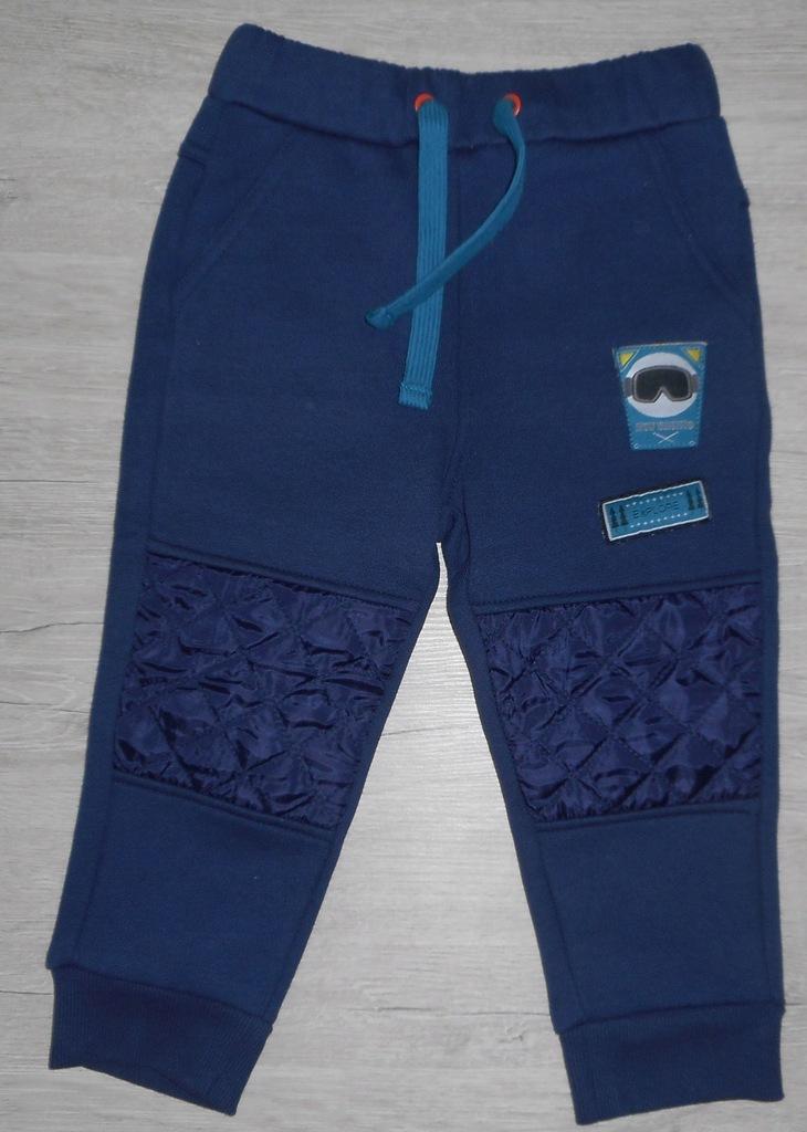 _COCCODRILLO_ Spodnie ocieplane 92 cm NOWE