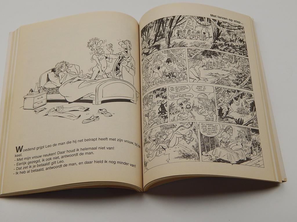 komiksy porno Tarzan