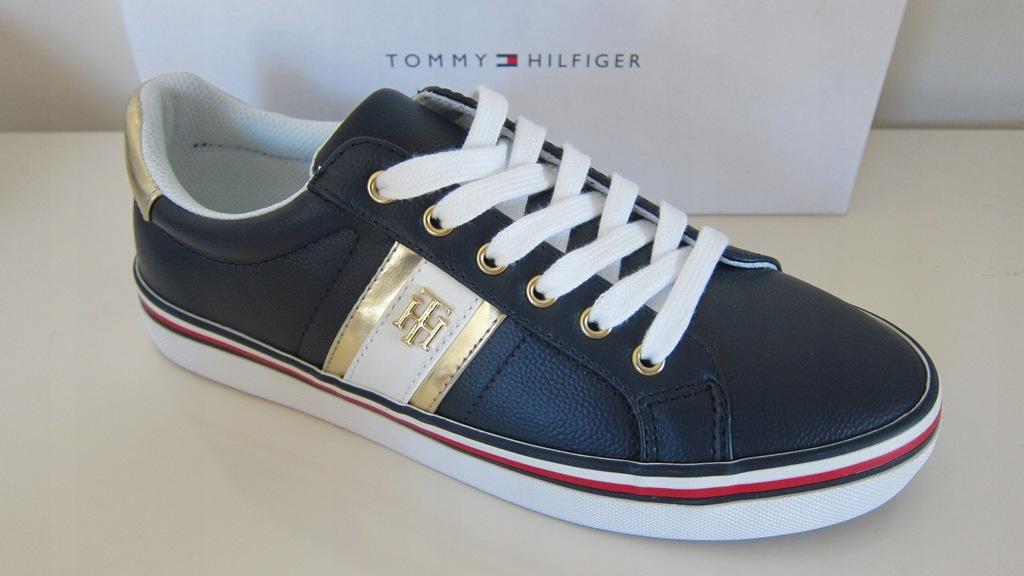 Tommy Hilfiger buty tenisówki trampki r.39 w PL