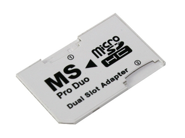 Adapter Dual Micro SD/MS PRO DUO
