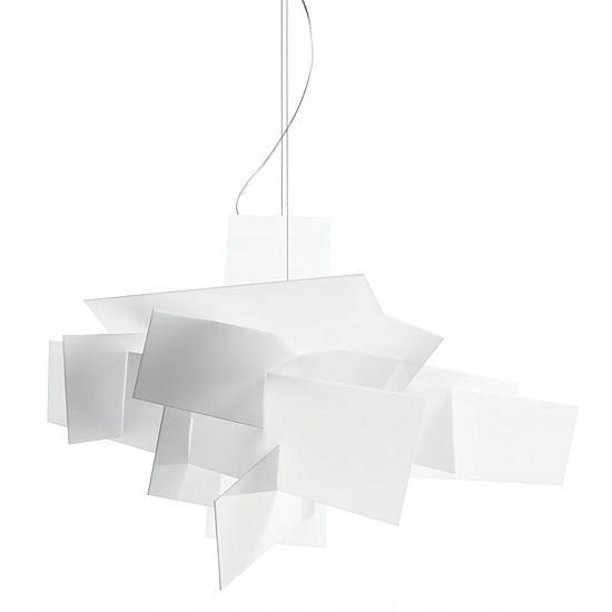 Lampa wisząca BANG BANG 65 biała - akryl, aluminiu