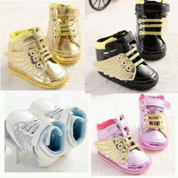 Buty dla niemowlaka, skrzydła 4 kolory 13