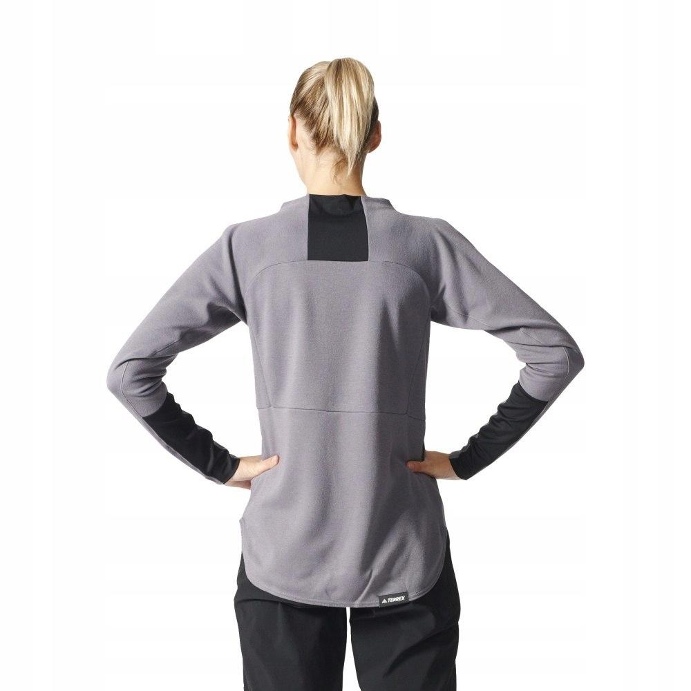 Bluza adidas Terrex Climb The City Wool Crew B45690